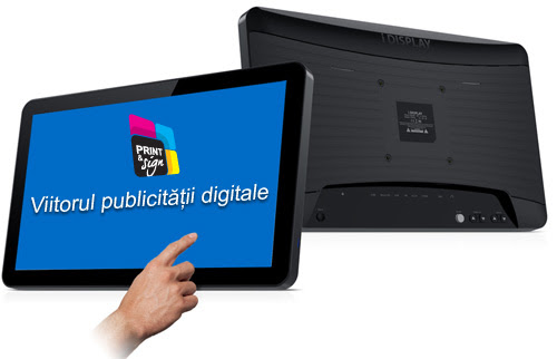 Tabletele interactive iDisplay